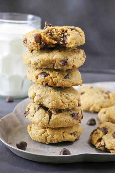 Gluten Free Chocolate Chip Peanut Butter Cookies Picture