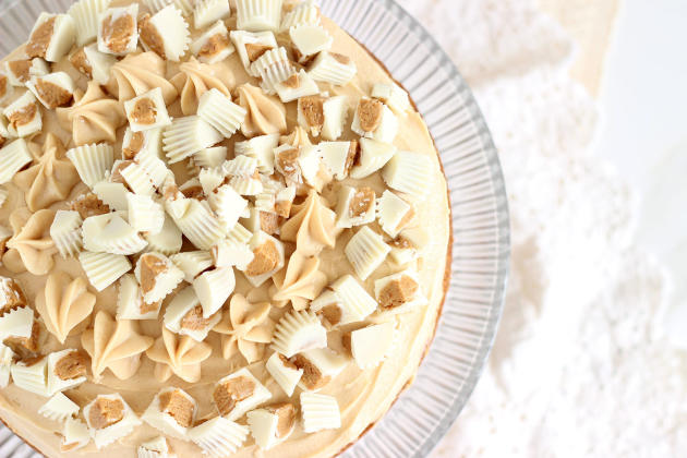 White Chocolate Peanut Butter Cheesecake Picture
