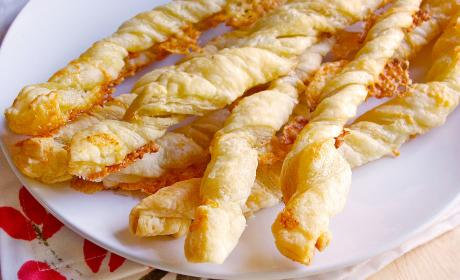 Cheese Twists Recipe