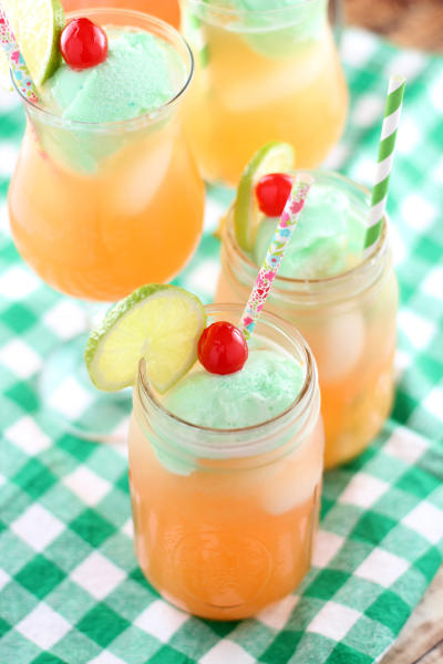 Lime Sherbet Punch Image