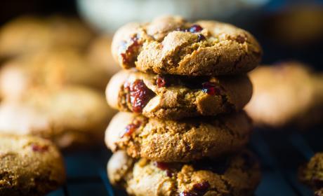 Paleo Cranberry Almond Cookies Recipe