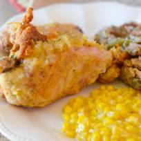 Gluten Free Oven Fried Chicken Recipe