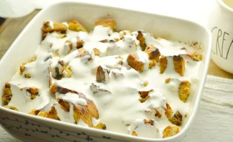 Cinnamon Raisin Bread Pudding