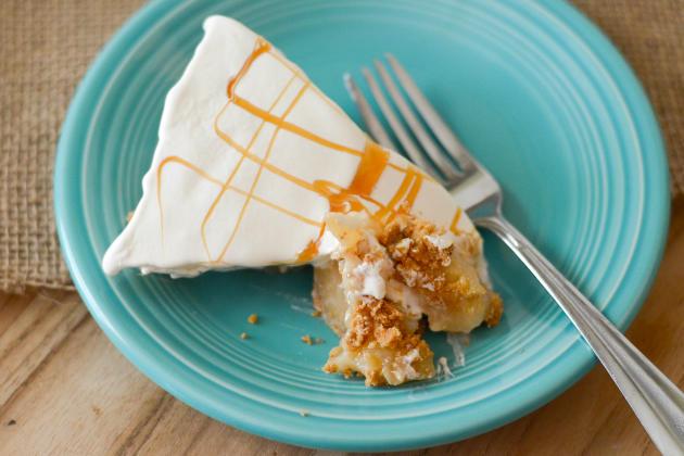Gluten Free No Bake Caramel Apple Pie Pic