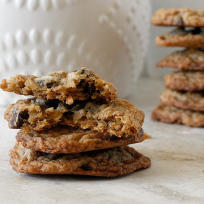 Oatmeal Coconut Chocolate Chip Cookies Photo