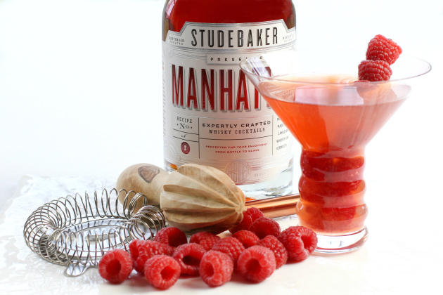 Raspberry Manhattan Photo