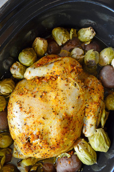 Slow Cooker Chicken and Potatoes Pic