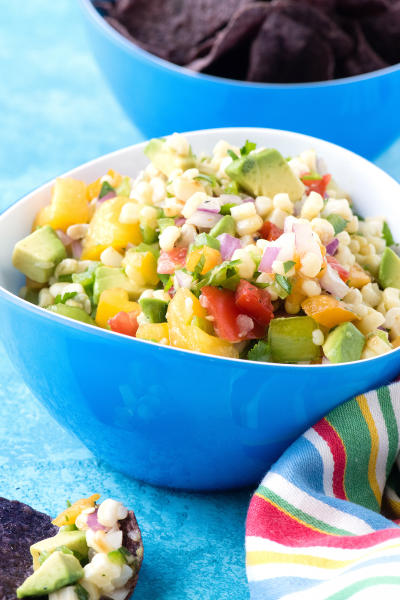 Grilled Sweet Corn Salsa Image