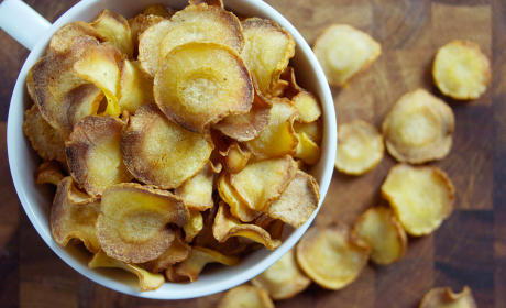 Baked Parsnip Chips Recipe