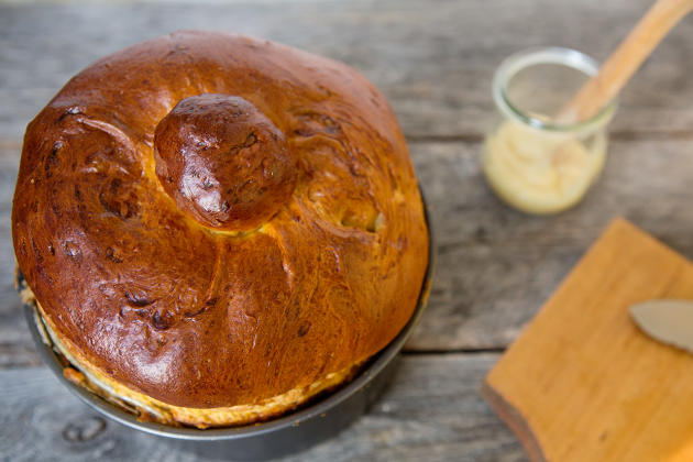 Pumpkin Brioche Photo