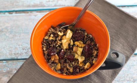 Wild Rice Porridge: Whole Grain Gluten Free Breakfast Satisfaction