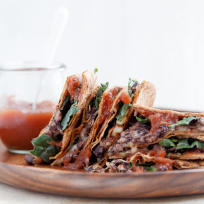 Pumpkin Black Bean Quesadillas Recipe