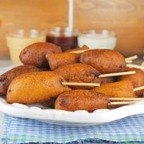 Homemade Mini Corn Dogs Recipe