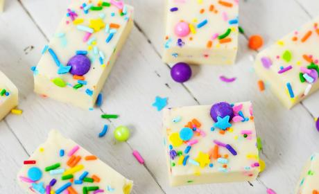 Gluten Free Cake Batter Fudge Recipe