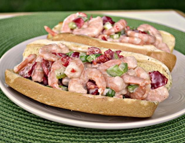 Shrimp Salad Sandwich Photo