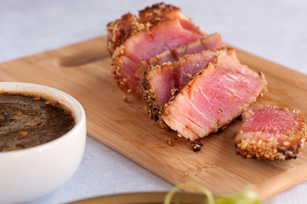 Seared Ahi Tuna Steaks Image