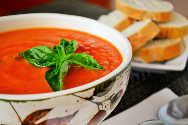Vegan Tomato Soup Photo