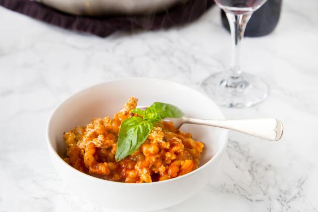 Chicken Parmesan Pasta Skillet Photo
