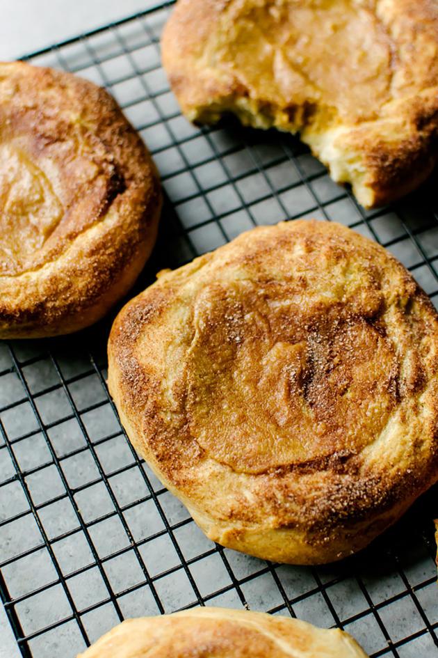 Pumpkin Cream Cheese Brioche - Food Fanatic