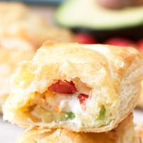 Avocado Cream Cheese Turnovers Recipe