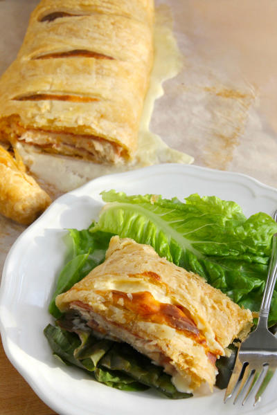 Puff Pastry Chicken Cordon Bleu Picture