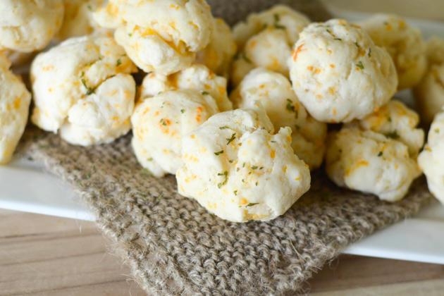 Gluten Free Cheddar Bay Biscuits Photo