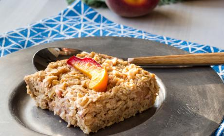 Baked Peach Oatmeal Recipe