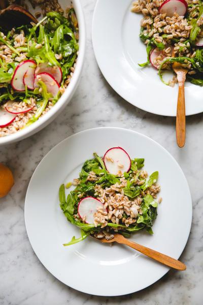 Farro Arugula Salad Pic