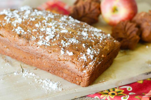 Gluten Free Caramel Apple Bread Photo
