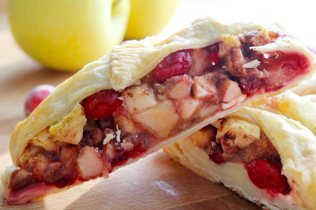 Cranberry Apple Strudel Recipe - Food Fanatic