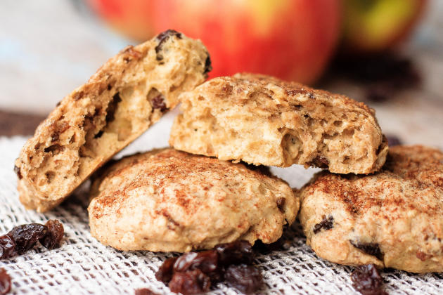 Apple Oatmeal Breakfast Cookies Image