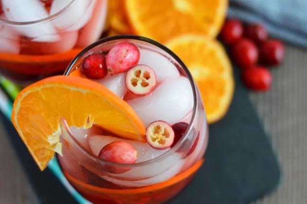 Cranberry Orange Sangria Image