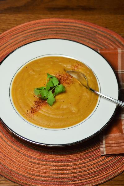 Vegan Potato Soup Picture