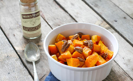 Vanilla Roasted Butternut Squash and Pecans