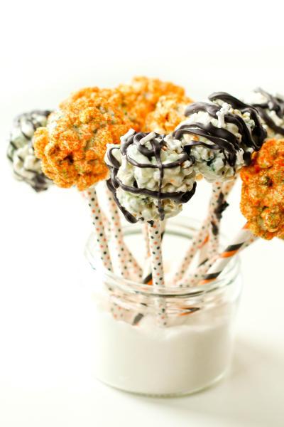Halloween Popcorn Pops Picture