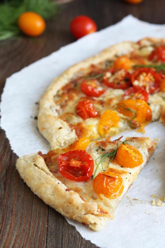 Tomato Fennel Tart - Food Fanatic