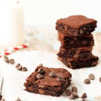 Flourless Peanut Butter Brownies Recipe
