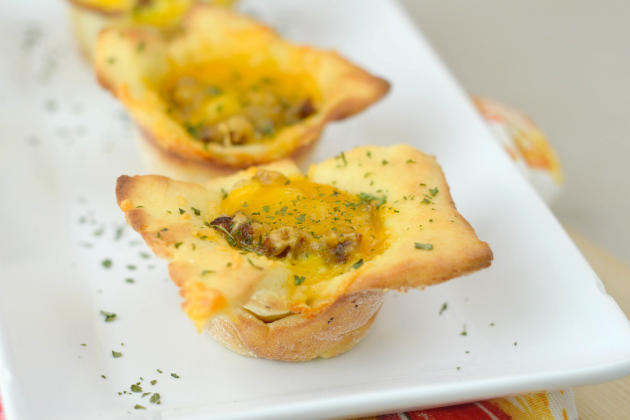 Gluten Free Breakfast Pizza Cups Photo