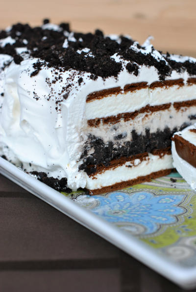 Oreo Ice Cream Cake Picture