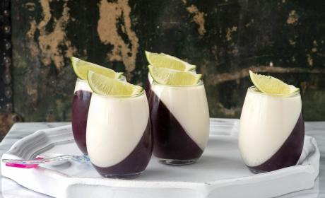 Blueberry Guava Panna Cotta