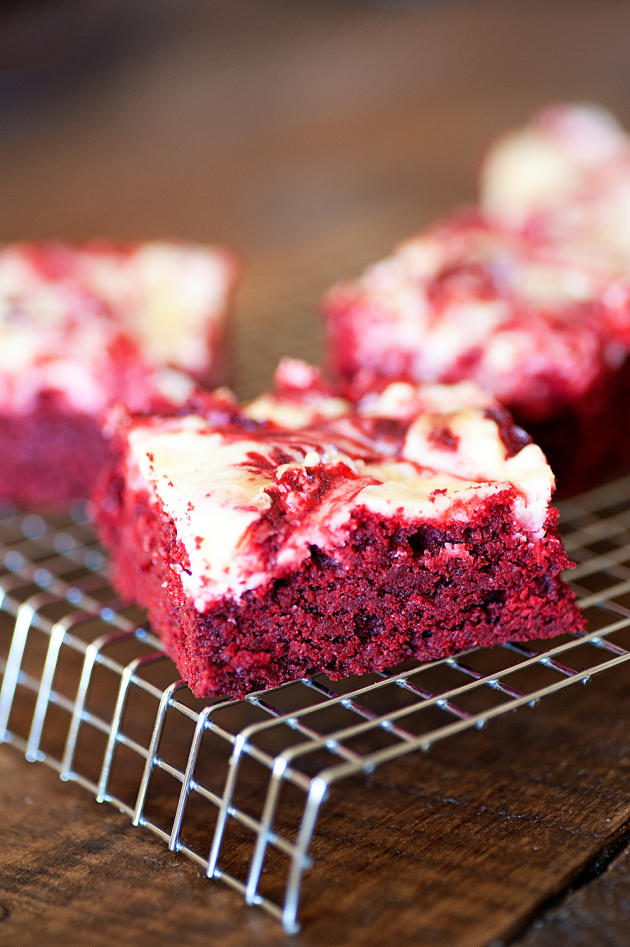 Red Velvet Cheesecake Brownies Picture