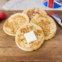 English Crumpets Recipe