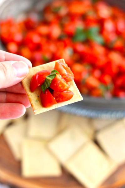 Gluten Free Tomato Bruschetta Picture