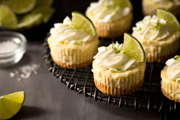 Mini Margarita Cheesecakes Photo