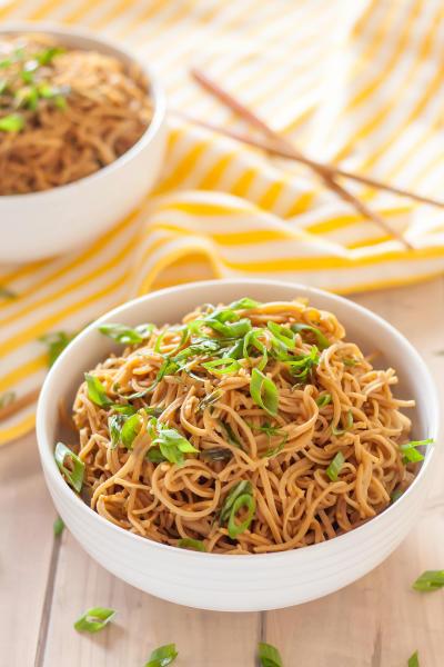 Gluten Free Sticky Garlic Noodles Picture