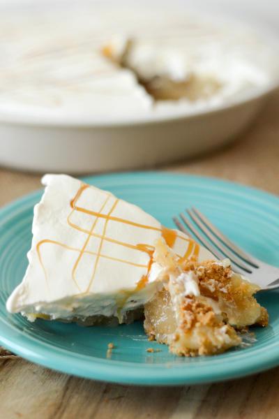 Gluten Free No Bake Caramel Apple Pie Picture