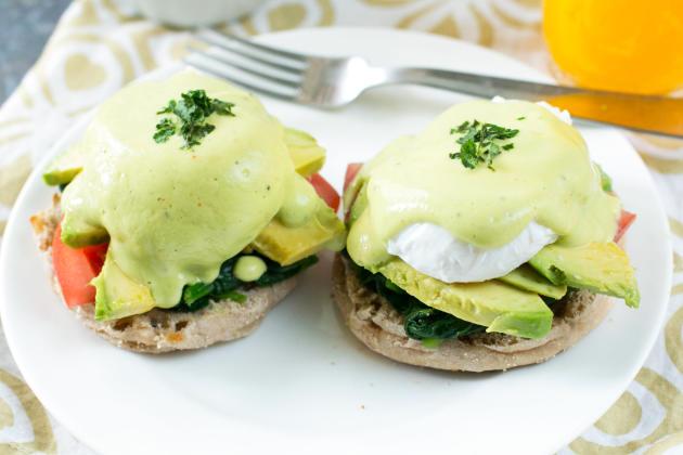 California-Style Eggs Benedict Photo