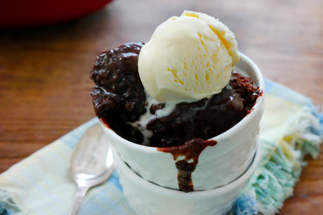 Slow Cooker Chocolate Lava Cake Pic