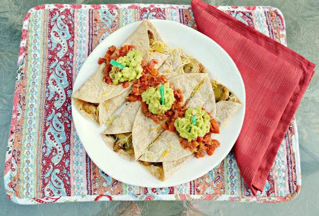 Vegetarian Burrito Picture
