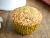 Ginger Rhubarb Muffins Photo